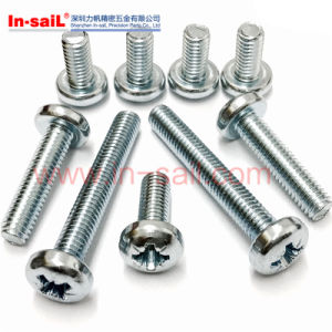 Cross Grooved Pan Head Screws pictures & photos