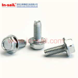 DIN6928 Hexagon Washer Head Self-Tapping Screws with Collar pictures & photos