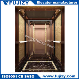 Villa Lift with Wooden Decoration pictures & photos