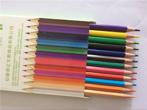 china oem 3 5inch half length children colored drawing pencils