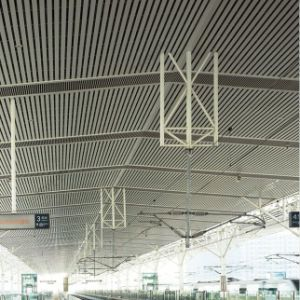 Aluminum Hollow Section Baffle Linear Ceiling with Fashion Design pictures & photos