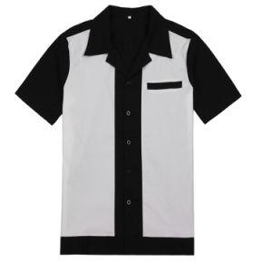 China Striped Wholesale Polo Men Shirt Cotton Work Clothes Two Tone