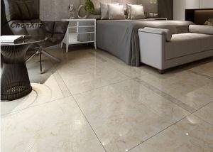China 600 X Indoor Ceramic Tile Bedroom Floor Tiles Stain Resistant Marble Grey