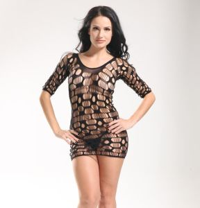Ladies Sexy Loungewear Fishnet Intimates Babydoll pictures & photos