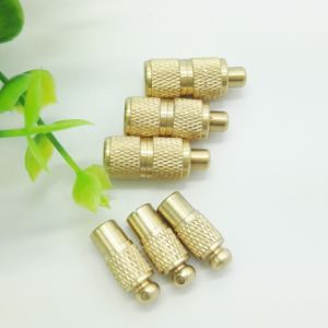 Spring Loaded Metal Buckle Clasp Rope Toggle Cord Locks pictures & photos