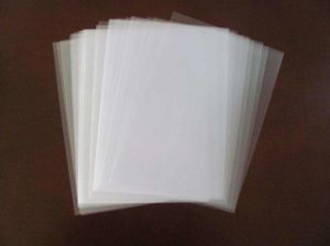 Excellent Flatness PVC Film for Card Overlay pictures & photos