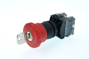 Supu Φ a=40mm Key E-Stop Pushbutton Switch pictures & photos