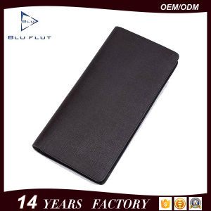 Fashion Design Factory Price Genuine Western Leather Men Handbag Wallets pictures & photos