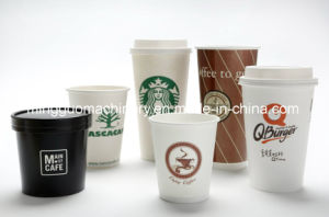 Paper Cup Making Machine Prices/Paper Tea Glass Machine Price pictures & photos