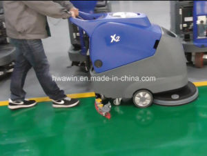 Battery Powered Walk Behind Floor Scrubber Machine pictures & photos