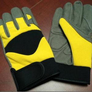 High Quality Mechanical Work Safety Glove pictures & photos