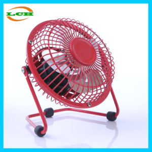 Mute and Portable Mini Aluminum Fan Blade Metal USB Fan pictures & photos