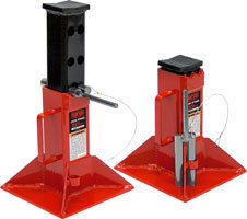 Jack Stand, Pin Style Jack Stands, Forklift Support Stand