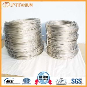 ASTM B863 Customize Gr5 Titanium Alloy Coil Wire in Stock pictures & photos