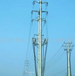 Steel Lattice Pole Tower pictures & photos