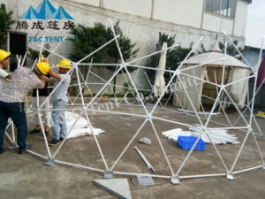 Round Shape Design Geodesic Dome Tent From China Supplier