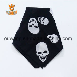 Newest Classic Pirate Cap Multifunctional Black Bandana 100%Cotton pictures & photos