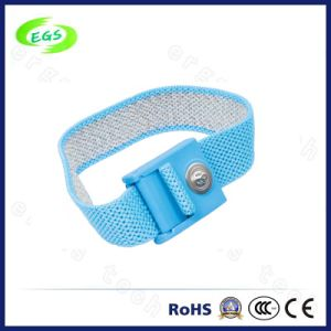 Standard Fabric Antistatic Wrist Strap for Industrial Usage in Workshop pictures & photos