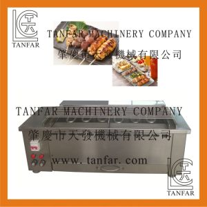 Electric Small Yakitori BBQ Making Machine pictures & photos