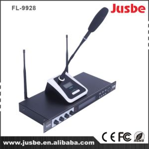 UHF 4 Channel Wireless System Microphone Handheld/Conference/Headset Option pictures & photos