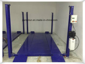 Car Storage Hydraulic Four Post Car Lift pictures & photos