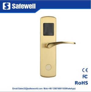 304 Stainless Steel Hotel Door Lock with Two Dfferent Types Handle pictures & photos