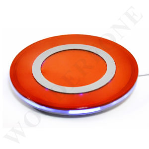 High Quality Wireless Qi Wireless Charger Accept Receiver for iPhone and Android pictures & photos