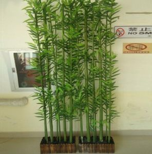 Whole Artificial Bamboo Bonsai Tree Plant Decorative Anywhere
