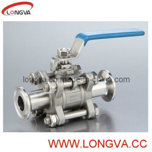 Sanitary Tri Clover Clamp End Ball Valve pictures & photos