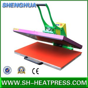 Most Popular Manual Big Size Heat Transfer Machine for Sublimation Printing pictures & photos