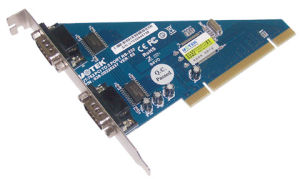 PCI to RS232 2 Ports Card (UT-752)