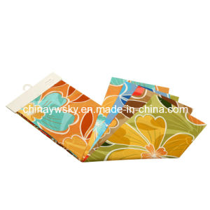 Factory Price of Brushed Microfiber Big Flowers Designs Pigment Printing pictures & photos