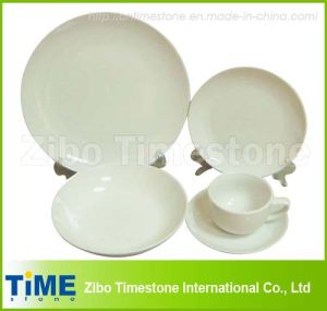 20PC Porcelain White Dinnerware Set (1010-12) pictures & photos