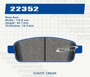Brake Pad for Chevy Cruze pictures & photos