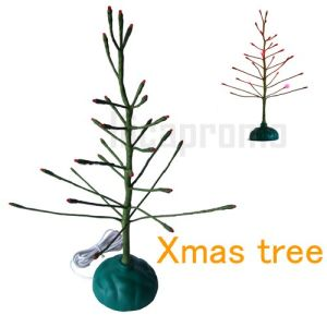 USB Christmas Tree With 27PCS Red or Yellow LED Flash (LPX002)