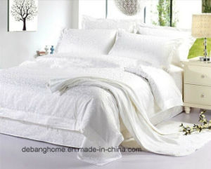 100% Cotton Sateen Stripe Hotel Bedding Set pictures & photos