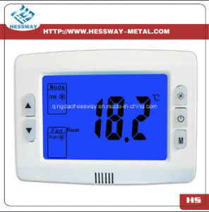 Digital Room Thermostat with Fan and Valve Control