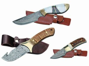 Damascus Hunting Knife/Survival Knife/Diving Knife
