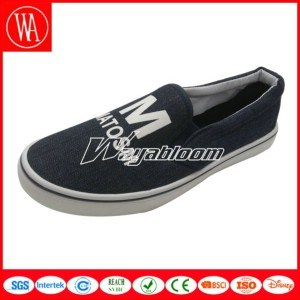 Flat Comfort Canvas Shoes Plain Casual Shoes for Men