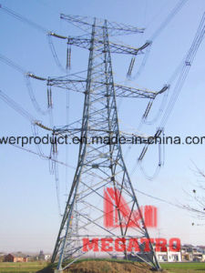 Megatro Box Type Overhead Transmission Steel Tower pictures & photos