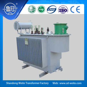 Capacity 8000---31500kVA, 33kv three phase oil-immersed on-load voltage regulation Power Transformer with vector group YNd11