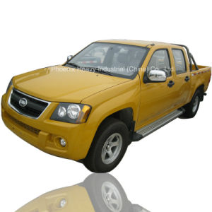 Low Price 4WD Rhd Pickup Truck with Diesel Engine pictures & photos