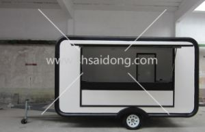 2014 Mobile Food Cart Design Coffee Carts For Sale Commercial