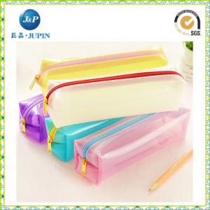 High Quality Transparent Clear PVC Plastic Pen Box (JP-pb026) pictures & photos