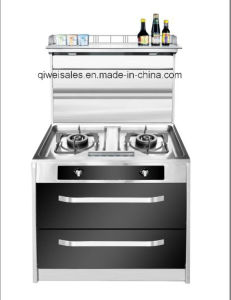 Integrated Cooker with Double Gas Stove (SX-X750)