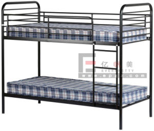 School Dormitory Furniture Student Metal Bunk Bed Frame pictures & photos