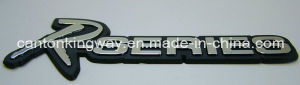 Silver ABS Plastic Nameplate