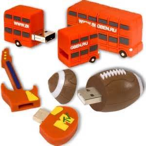 Custom PVC USB Flash Disk with Logo 64GB Flash Drive pictures & photos
