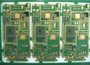 6 Layer Mobile Immersion Gold PCB