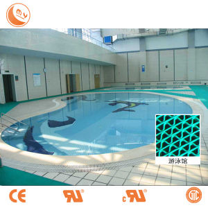Rubber S Grid Matting Using in Swimming Pool
